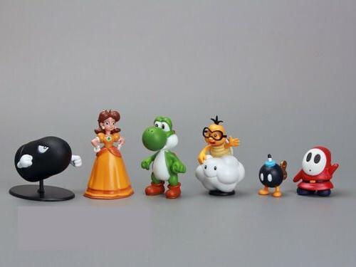 Super Mario 18pcs Playset Figurine Dolls
