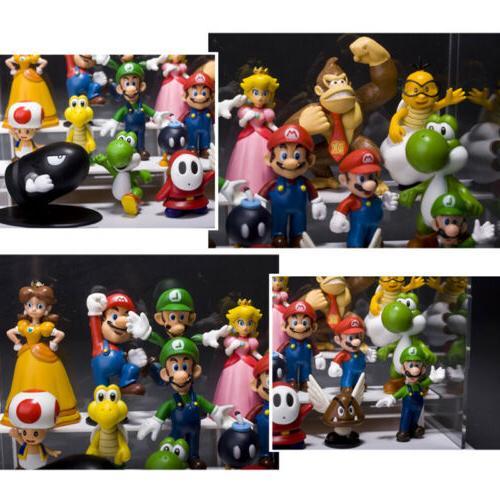18pcs Super PVC Figure Doll Playset Gift US