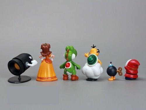 Super Mario Bros 18pcs Playset Figurine Toy Dolls