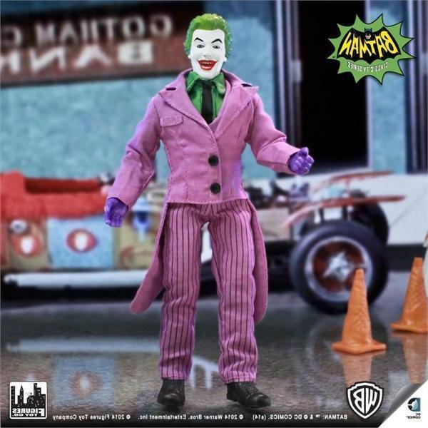 1966 BATMAN TV SERIES 1; JOKER 8 INCH ACTION FIGURE NEW LOOS