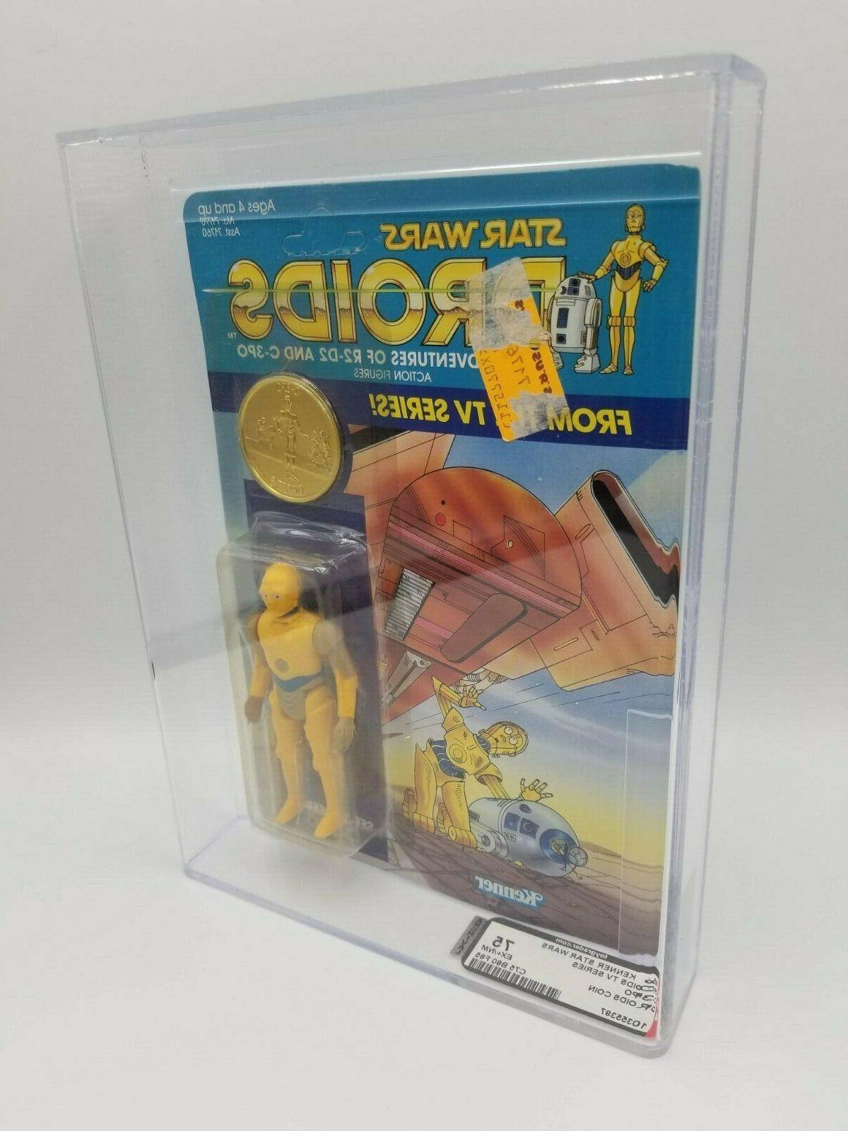 "1985 WARS TV SERIES C-3PO 3/4"" ACTION FIGURE AFA 75"