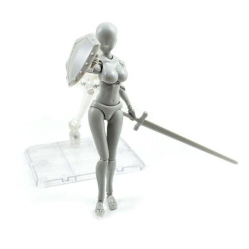 2.0 Artists Action Model Kun Doll PVC Body-Chan DX Set
