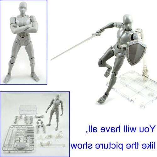 2.0 Action Figure Kun PVC Body-Chan DX Set