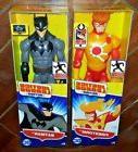 2 NIP DC Justice League Action: BATMAN & FIRESTORM Posable A