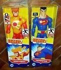2 NIP DC Justice League Action: FIRESTORM & SUPERMAN Posable