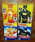 2 NIP DC Justice League Action: FIRESTORM & BATMAN Posable F