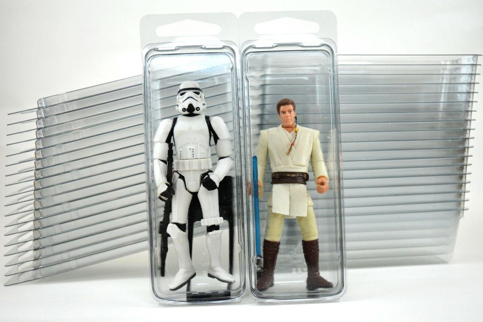 "20 - Action Figure 4"" Plastic Storage Cases -"