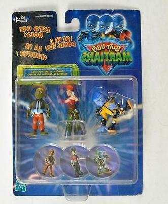 HASBRO 2000 BUTT-UGLY MARTIANS ACTION FIGURES W/ BOGS
