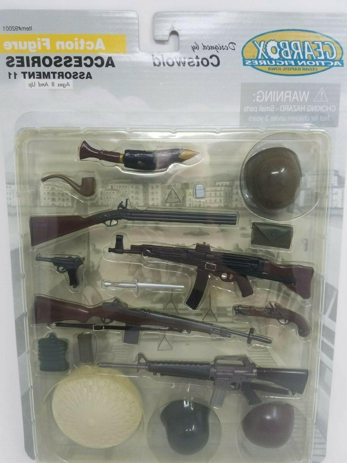 2001 Gearbox Military Figure Accessories