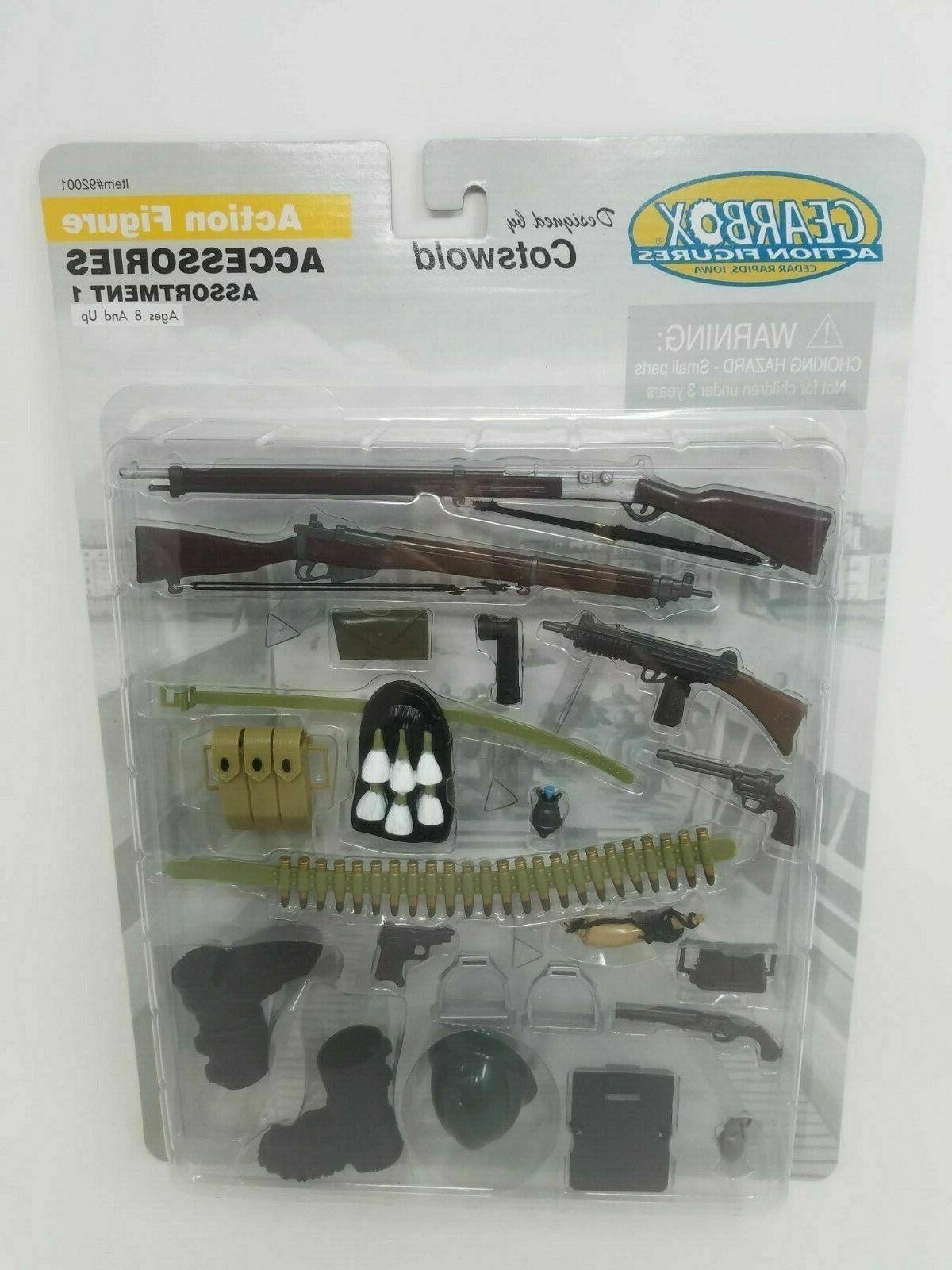 2001 by cotswold military action figure accessories