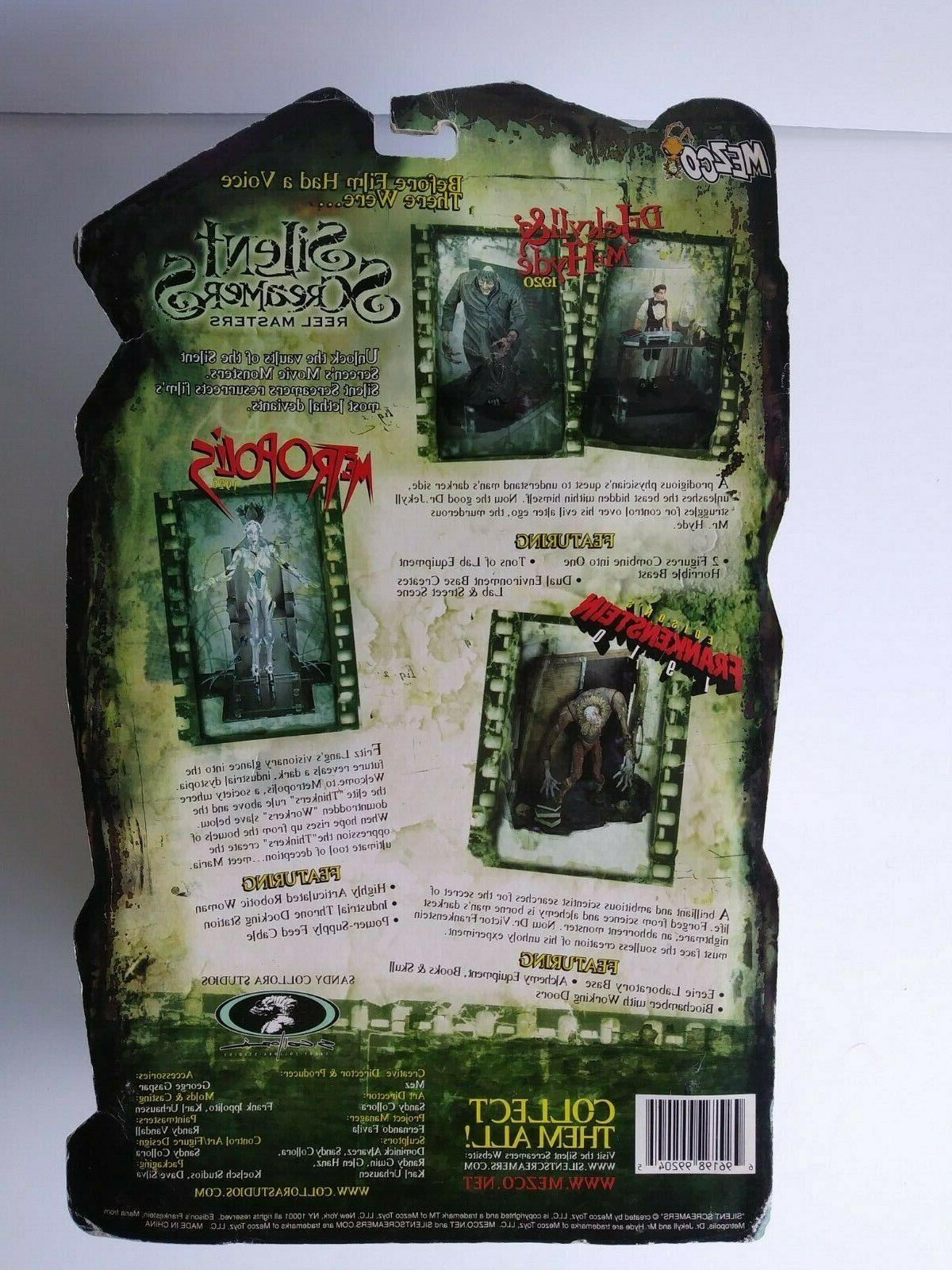 2001 Mezco Screamers METROPOLIS Figure