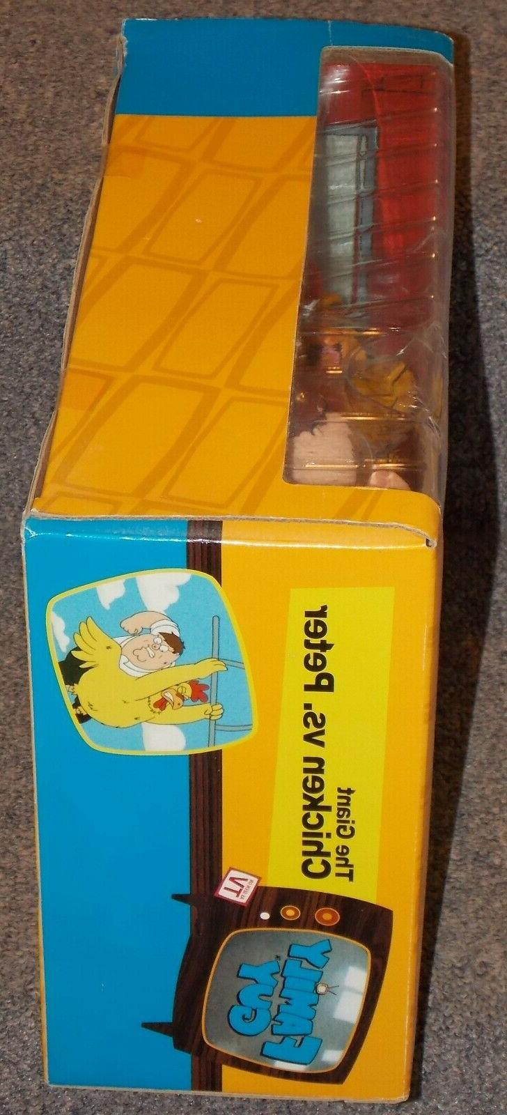 2005 MEZCO Giant Chicken Action Figure Set New In The