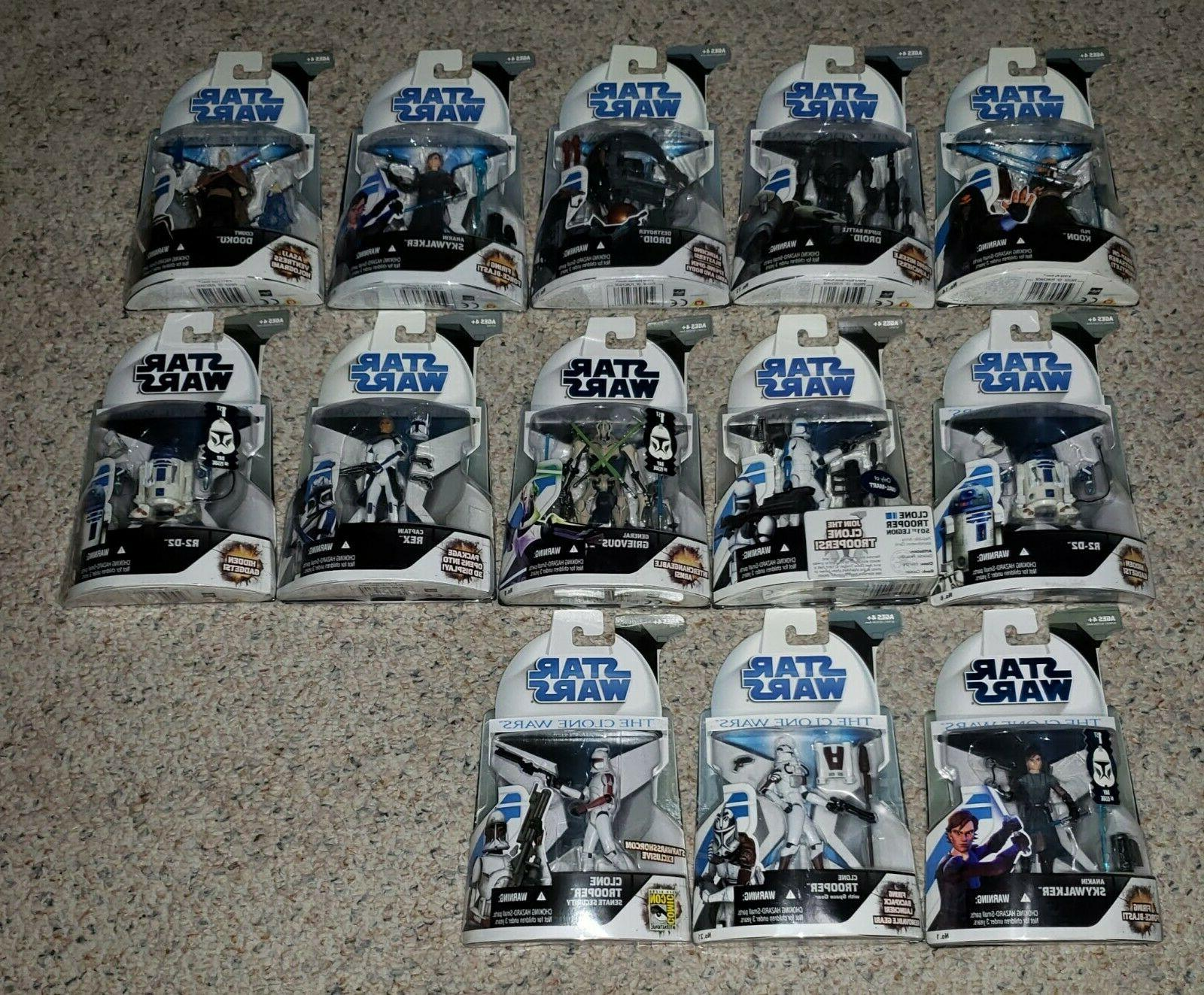 2008 clone wars 3 75 action figures