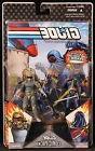 2008 HASBRO GI JOE COMIC PACK COBRA COMMANDER TRIPWIRE 3 3/4
