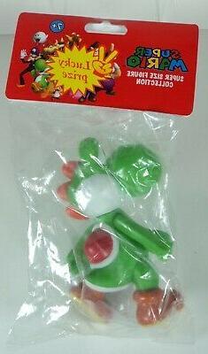 """2008 Nintendo Banpresto 5"""" Yoshi Action Figure - NEW - FREE"""