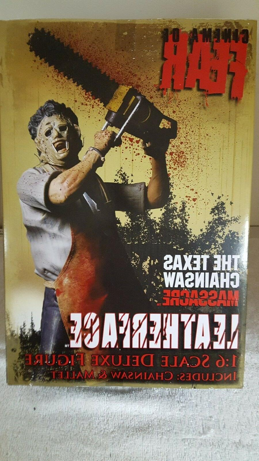2010 Mezco Cinema of Fear Massacre LEATHERFACE MIB