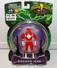 "2010 Mighty Morphin Power Rangers 4"" Inch RED Power Ranger A"