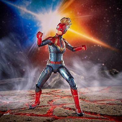 2019 Captain Marvel Action Avengers 6''