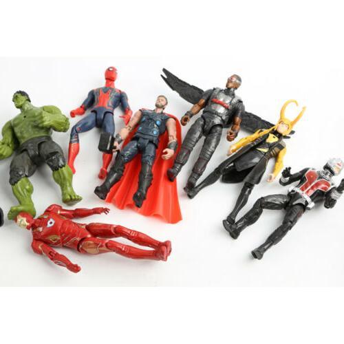20Pcs Avengers 3 Infinity War Thanos SuperHero Kids Action Figures