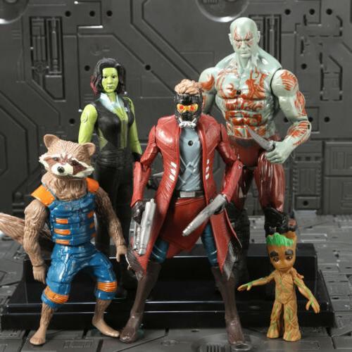 20Pcs 3 War Thanos SuperHero Kids Action Toys Doll