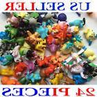 24Pcs Cute Pokemon Mini Pocket Random Action Figures Hot Kid