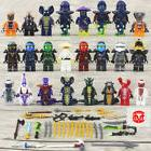 24Pcs Ninjago Lego Building Blocks Toys Minifigures Kids Min