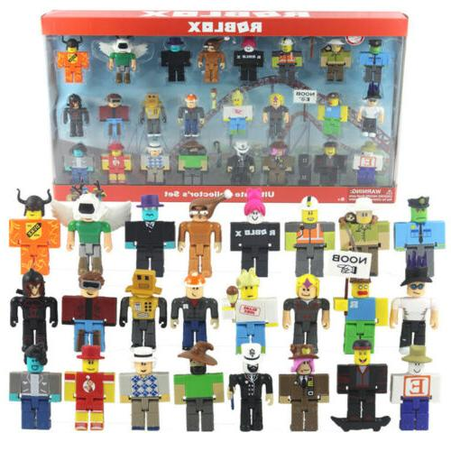 24PCS Classic Noob Action Figure Collection Toy
