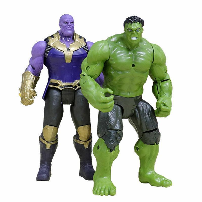 2PCS Marvel Avengers Movable