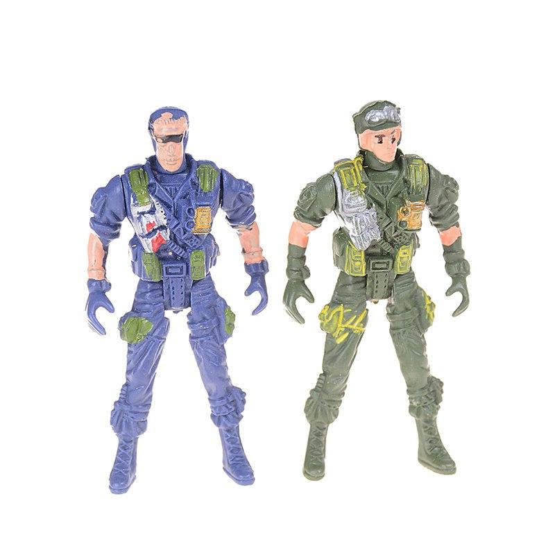2pcs Military toys Military ModelSpecial Force <font><b>Action</b></font> <font><b>Figures</b></font> Toys Gifts