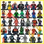 34 Pcs/lot The Lego Marvel DC Super Hero Figures block set N