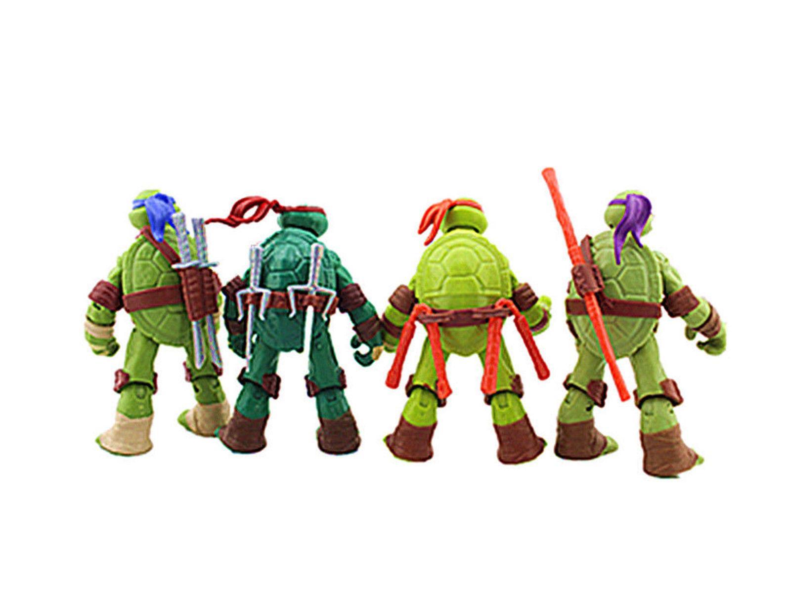 4 Teenage Mutant Ninja