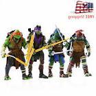 4 pcs tmnt teenage mutant ninja turtles