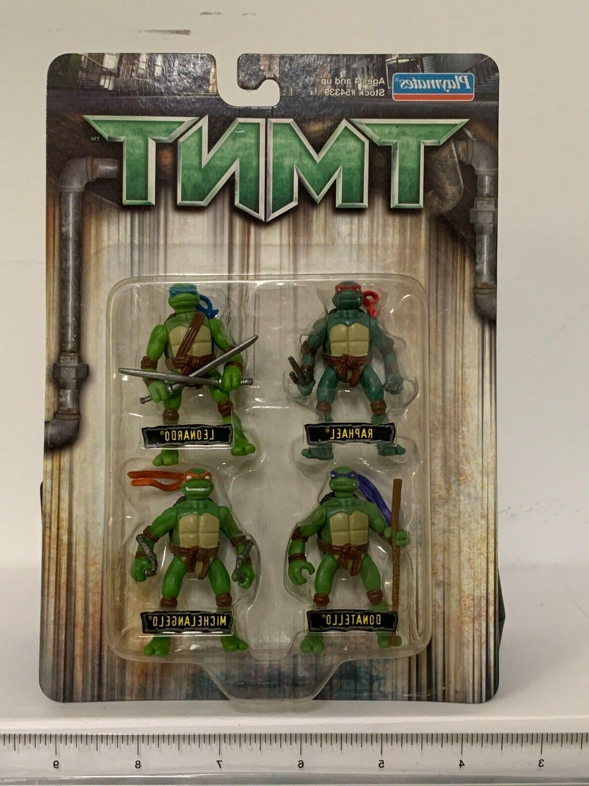 4pc tmnt classic collection action figures toy