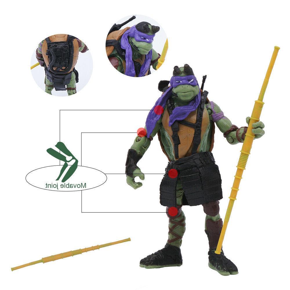 """Turtles Movie 4"""" Figure Kids Gift"""