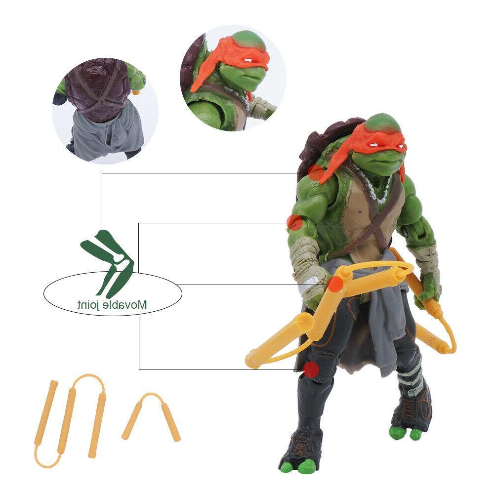 """4PCS Teenage Turtles 4"""" Action Figure"""