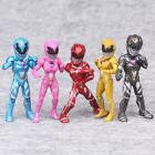 5 Pcs Power Rangers Movie Action Figures Super Heroes Jason