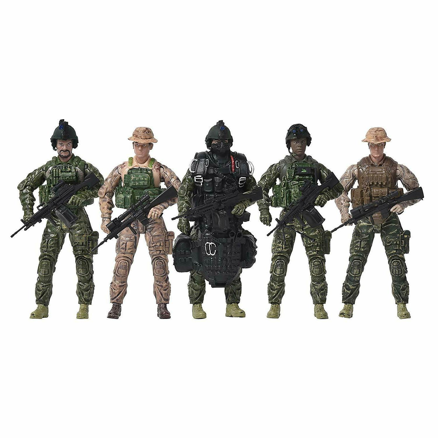action figure toy kids realistic scale military