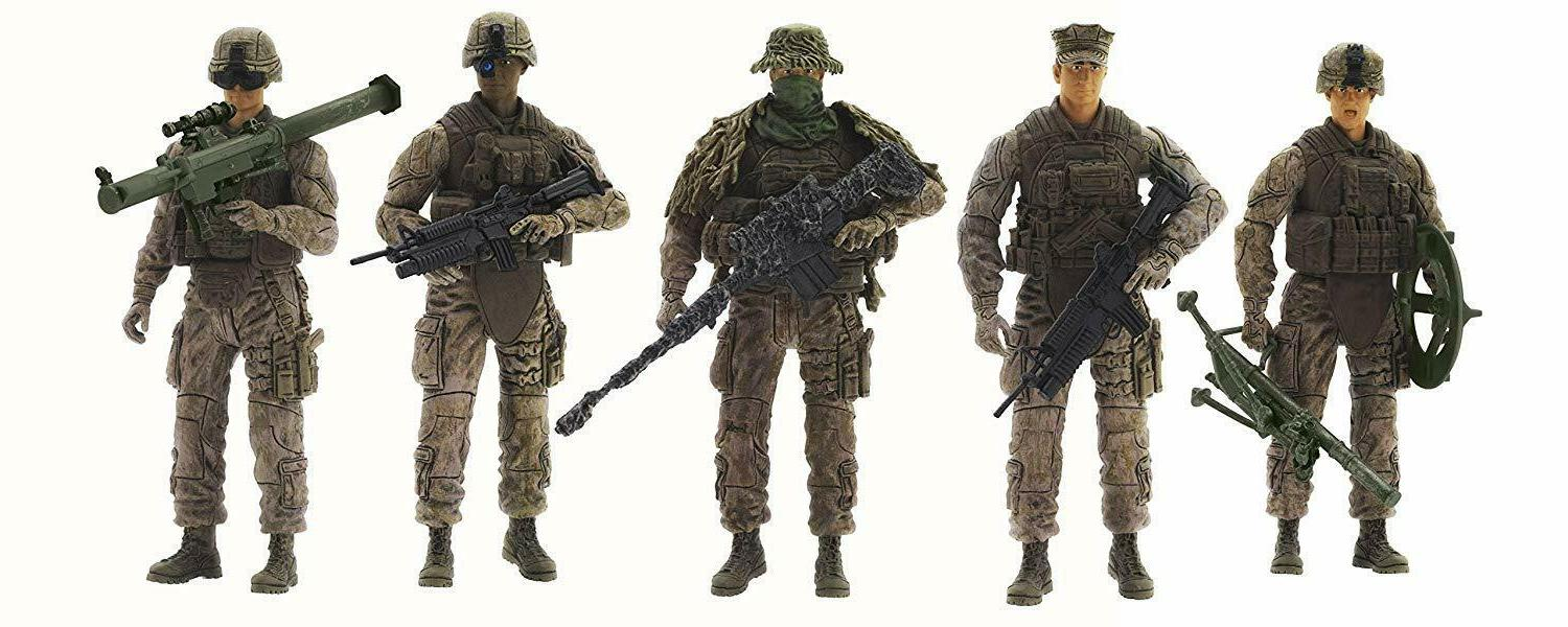 Elite Force Person Fire Marine Force Recon