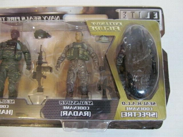 Elite Person Action Figures, Fire Team & Marine Force