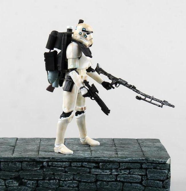 """6"""" Series Wars Vader Stormtrooper"""