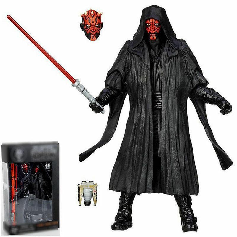 """6"""" Black Wars Action Vader Boba Fett"""