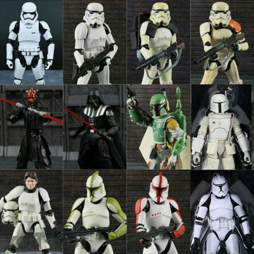 "6"" Series Wars PVC Action Figure Clone Trooper Boba Stormtrooper"