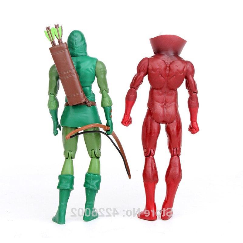 6'' Green Arrow <font><b>Figures</b></font> Mr. Movable Figurines Kids