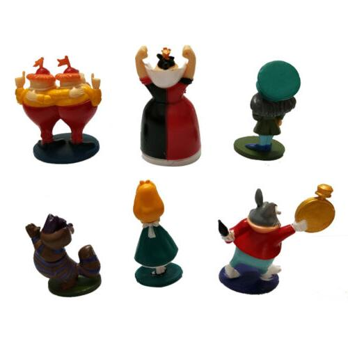 6 Wonderland Rabbit Action Figure Topper Toy