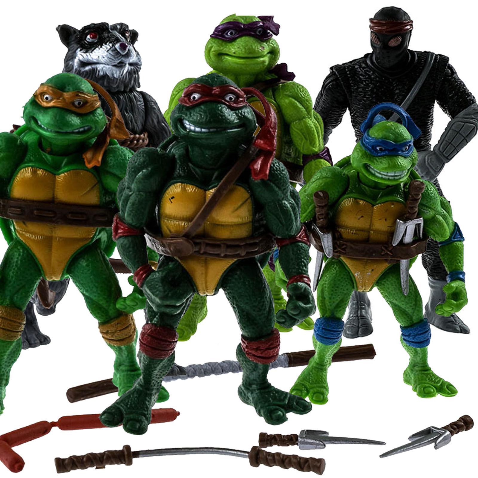 6 pcs teenage mutant ninja turtles 2nd