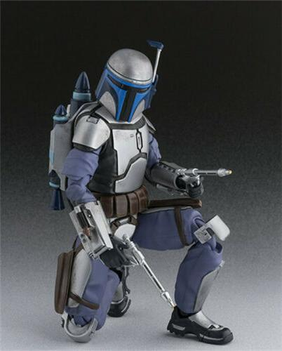 "6"" S.H.Figuarts Wars Jango PVC Action in Box"