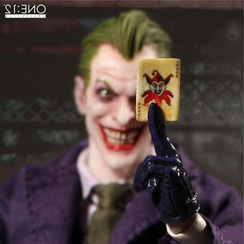 6inch 15cm <font><b>MEZCO</b></font> Dark Knight Joker <font><b>Action</b></font> Model Toy