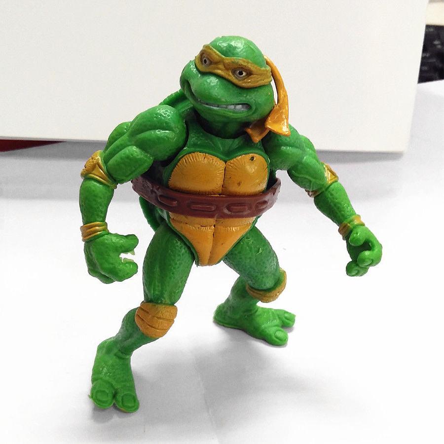 6Pc Teenage Mutant Ninja Turtles Action Collection TMNT