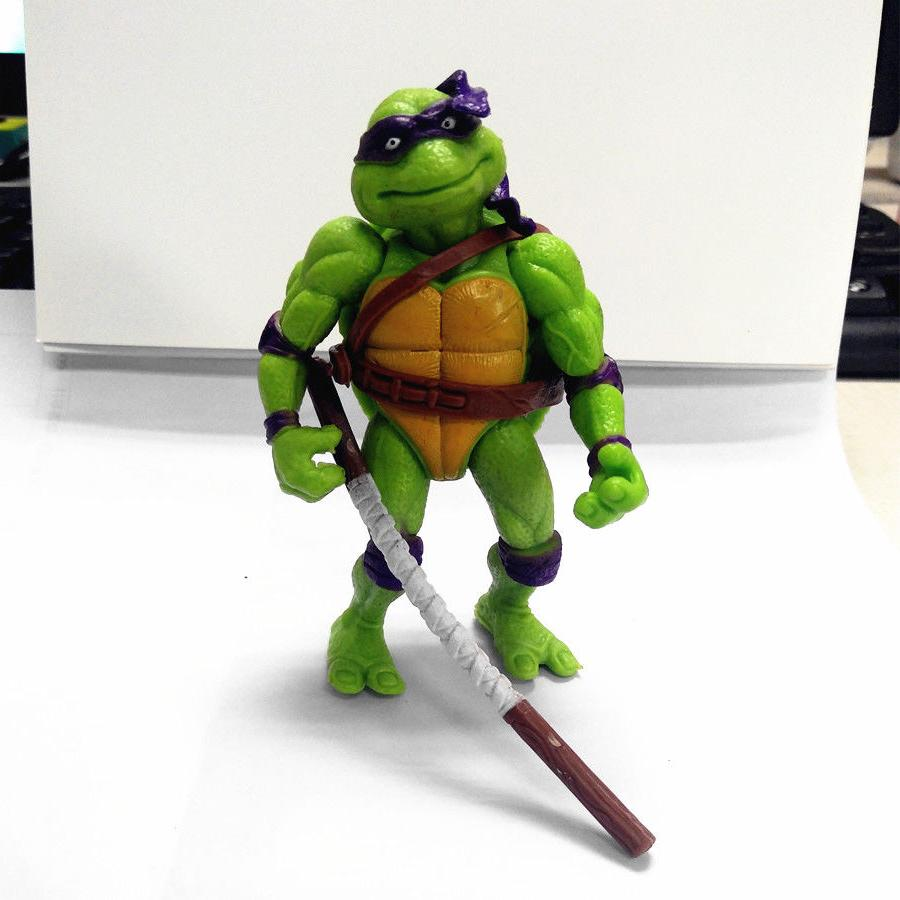 6Pc Teenage Turtles Action Figures Classic Collection TMNT