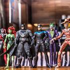 6pcs DC Batman Joker Poison lvy Harley Quinn Scarecrow Robin